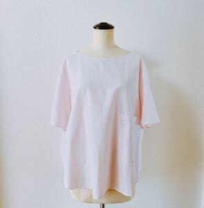 ☆新品☆ COS ビッグポケット トップス ピンク Mサイズ プルオーバー ブラウス 半袖 オーバーサイズ シャツ Tシャツ コス H&M