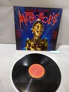A2775【レコード / METROPOLIS / メトロポリス オリジナル・サウンドトラック / QUEEN FREDDIE MERCURY / 28AP-2910】