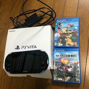 【ソフト付き】 PS Vita PCH-2000