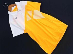 ネコポスOK ニューバランス ポロシャツ sizeL/オレンジ ■◆ ☆ bfc2