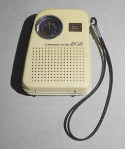 MITSUBISHI AMラジオ 「6X-810」 三菱 BOB