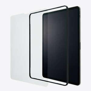 iPad Pro 12.9インチ 第5世代(2021) 対応 液晶保護ガラスフィルム フィルムがキレイに貼れる専用ガイドフレーム付: TBWA21PLFLGGJ
