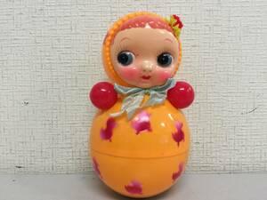 昭和レトロ 起き上がりこぼし セルロイド 18cm 当時物 ミニ 珍品 レア おもちゃ屋さん 蔵出し オルガン 未使用   A8.2  UT