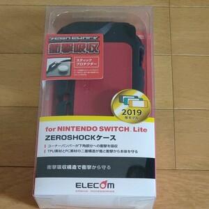 Switch Lite ZEROSHOCKカバー ニンテンドー スイッチライト ゼロショック┃GM-NSLZERORD エレコム