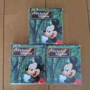 Mickey & Minnie Notepad 3 Set Mickey