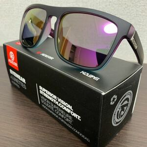 新品未使用♪kdeam最新偏光レンズサングラス パープルミラーレンズ 即購入可