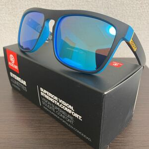 新品未使用♪kdeam最新偏光レンズサングラス ブルーミラーレンズ 即購入可