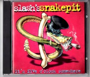 Used CD 輸入盤 スラッシュズ・スネイクピット Slash's Snakepit イッツ・ファイヴ・オクロック・サムホエア It's Five O'Clock Somewhere