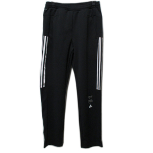 処分 adidas アディダス レディス ウィメンズ ID ウォームアップパンツ ジャージ ブラック×ホワイト FYI86 Oサイズ 22883