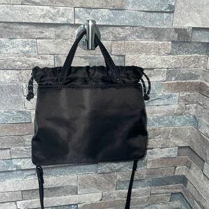 バッグ 鞄 ブラック トートバッグ ショルダーバッグ ナイロン ZARA 軽量