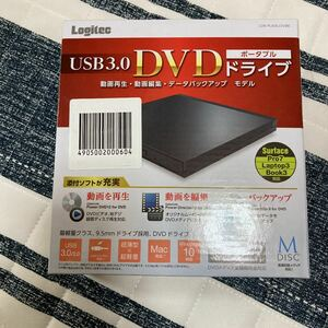 【新品未使用】Logitec LDR-PUE8U3VBK