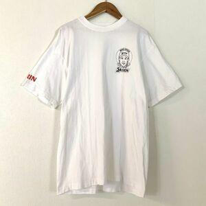 希少 入手困難 女子ゴルフ 古閑美保 スリクソン ワンポイント 半袖 tシャツ メンズ Lサイズ ホワイト golf コレクター 限定品