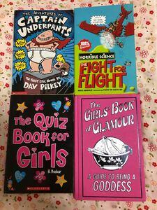 子供向け英語の本 4冊セット