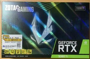 ZOTAC GAMING GeForce RTX 3080 Ti Trinity 新品未開封【送料無料】