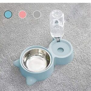 ペットフードボウル 給水器スタンドセット 犬猫用