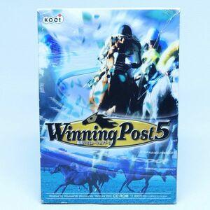 E21 ジャンク インストール未確認 PC版 windows ウイニングポスト5 ゲームソフト レトロゲーム 95 98 winning post V
