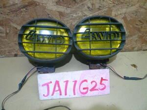 G25 本州送料1500円 ジムニー JA11 4WD フォグランプ 左右
