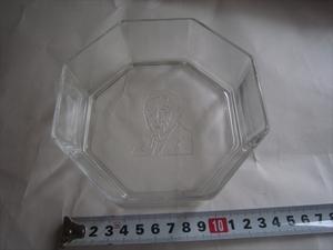 新品未使用品 サントリーウィスキーSUNTORYガラス皿硝子プレート昭和レトロ希少品アンティークノベルティーグッズビンテージコレクション
