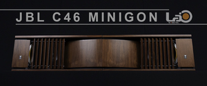 ◆◇全米松合板仕様◇◆ JBL C46 MINIGON レンジャーシリーズ最後の名品スピーカー・システム