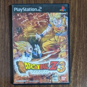 PS2ソフト ドラゴンボールZ3