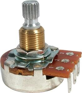 ポット Potentiometer - Bourns, Linear, Knurled Shaft, 1 MΩ [送料170円から 同梱可]