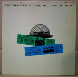 ビートルズ THE BEATLES AT HOLLYWOOD BOWL レコード