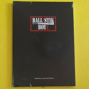 【未開封】BALLISTIK BOYS  MEMORIAL LIVE PHOTOBOOK フォトブック