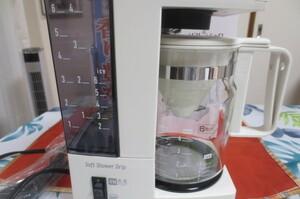【MI-20R】サンヨーコーヒーメーカー SHC-HC6(W)6カップ ユースド程度良好