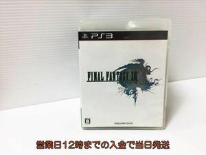 【1円】PS3 ファイナルファンタジーXIII ゲームソフト 1Z005-826ey/G1