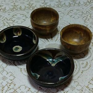 陶器 小皿 各2枚