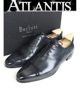 銀座店 ベルルッティ レザー シューズ メンズ 靴 ブラック 29cm size11