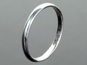 [RG-N078] Silver925 Simple Silver Ring No. 23 Ring Women