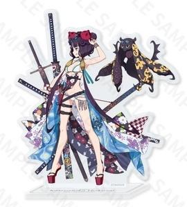 Fate / Grand ORDER Battle Character Flash Acrylic Stand (Saber, Katsushika Hokusai) / FGO / DELIGHTWORKS