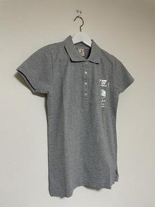 【激安1点のみ 国内正規品】ocean pacific オーシャンパシフィック OP 半袖 ポロシャツ L グレー系 USED