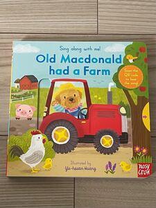 仕掛け 英語絵本 音声付き old Macdonald had a farm