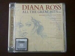 【Hybrid SACD】ダイアナ・ロス/ALL THE GREAT HITS♪16曲収録 限定シリアル付 Diana Ross