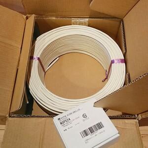 未使用 関西通信電線 UTP-C5E cat5e 100m 白 LANケーブル おまけ(日本製線 cat5e用モジュラー 50個)