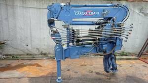 tadano TM-ZR104 cargo crane carrier inside factory option crane 1 ton 4 step boom work half diameter 5m