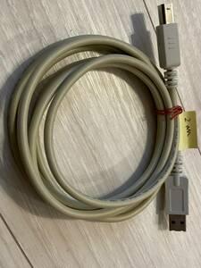 送料込 中古 USB2.0ケーブル タイプAオス - タイプBオス 1.8m スケルトン その4