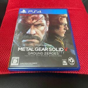 PS4 メタルギアソリッドV METAL GEAR SOLID ディスク美品!