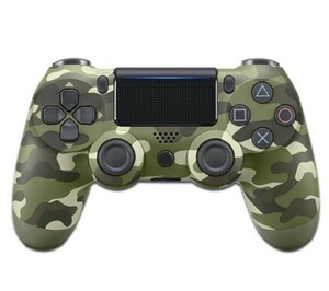PS4 コントローラー 迷彩 互換品 無線ワイヤレス 新品