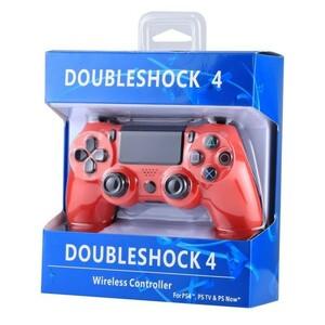 PS4 コントローラー レッド 互換品 無線ワイヤレス 新品