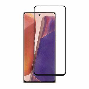 Galaxy Note 20 9H 0.26mm 枠黒色 強化ガラス 液晶保護フィルム 2.5D L041