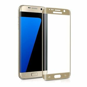 Galaxy S6 edge SC-04G SCV31 404SC 9H 0.26mm 金色 全面保護 強化ガラス 液晶保護フィルム 2.5D KC39