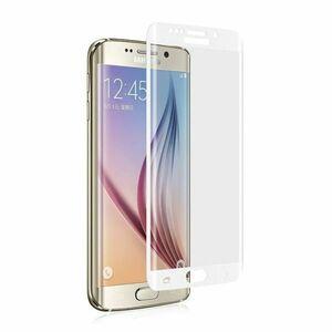 Galaxy S6 Edge+Plus 5.7インチ 9H 0.26mm 枠白色 全面保護 強化ガラス 液晶保護フィルム 2.5D KC82