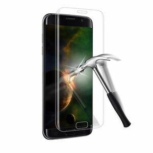 Galaxy S6 Edge+Plus 5.7インチ 9H 0.26mm 透明 全面保護 強化ガラス 液晶保護フィルム 2.5D KC83