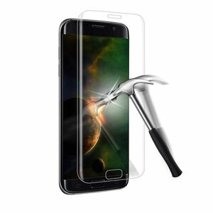 Galaxy S7 edge SC-02H SCV33 9H 0.26mm 全透明 全面保護 強化ガラス 液晶保護フィルム 2.5D KC100