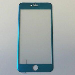 iPhone6 Plus iPhone6s Plus 5.5インチ 9H 0.26mm 青色 チタン 全面保護 強化ガラス 液晶保護フィルム 3D曲面カバー 2.5D KA50