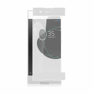 Xperia XA1 5インチ 枠白色 9H 0.26mm 強化ガラス 液晶保護フィルム 2.5D K242