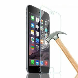 iPhone6 Plus iPhone6s Plus 5.5インチ 9H 0.15mm 薄い 強化ガラス 液晶保護フィルム R加工なし K292